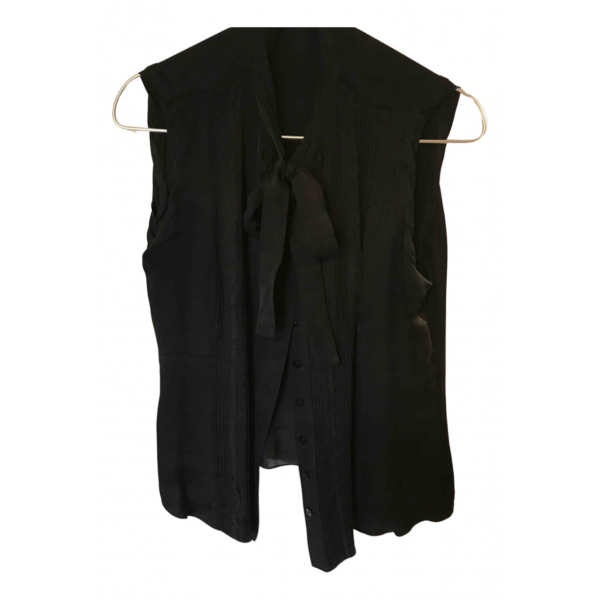 Carolina Herrera - Top   pour femme en soie - noir