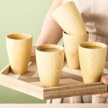 1 Stueck Holz Becher