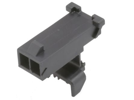 Molex , Micro-Fit Female Connector Housing, 3mm Pitch, 2 Way, 1 Row (9200)