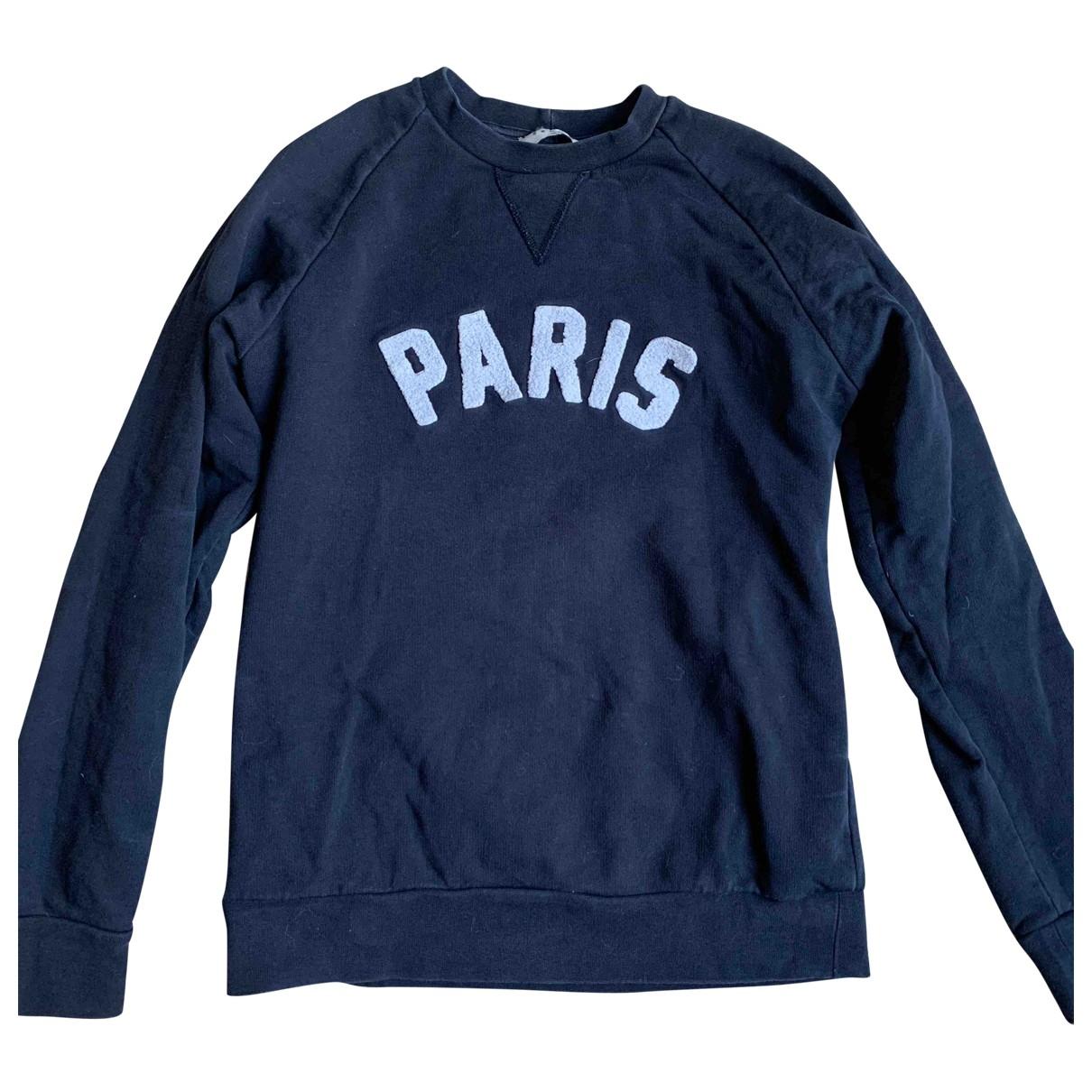 Sandro \N Blue Cotton Knitwear & Sweatshirts for Men S International