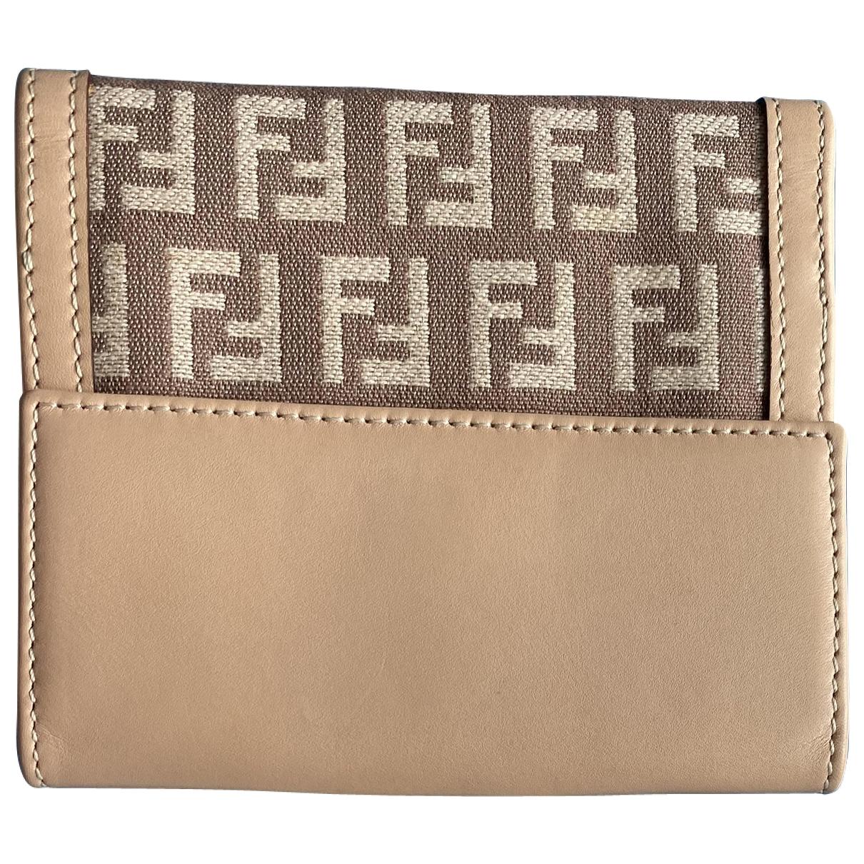 Fendi \N Pink Cloth wallet for Women \N