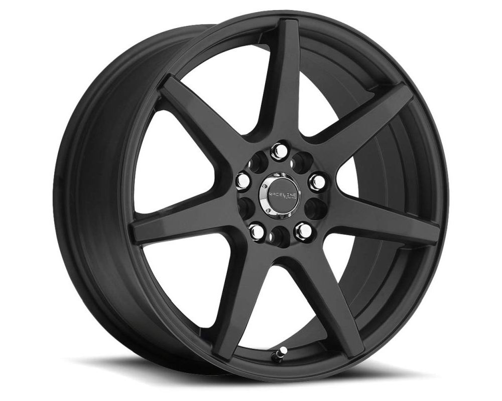 Raceline 131B EVO Satin Black Wheel 18X7.5 5X112|5X120 42mm