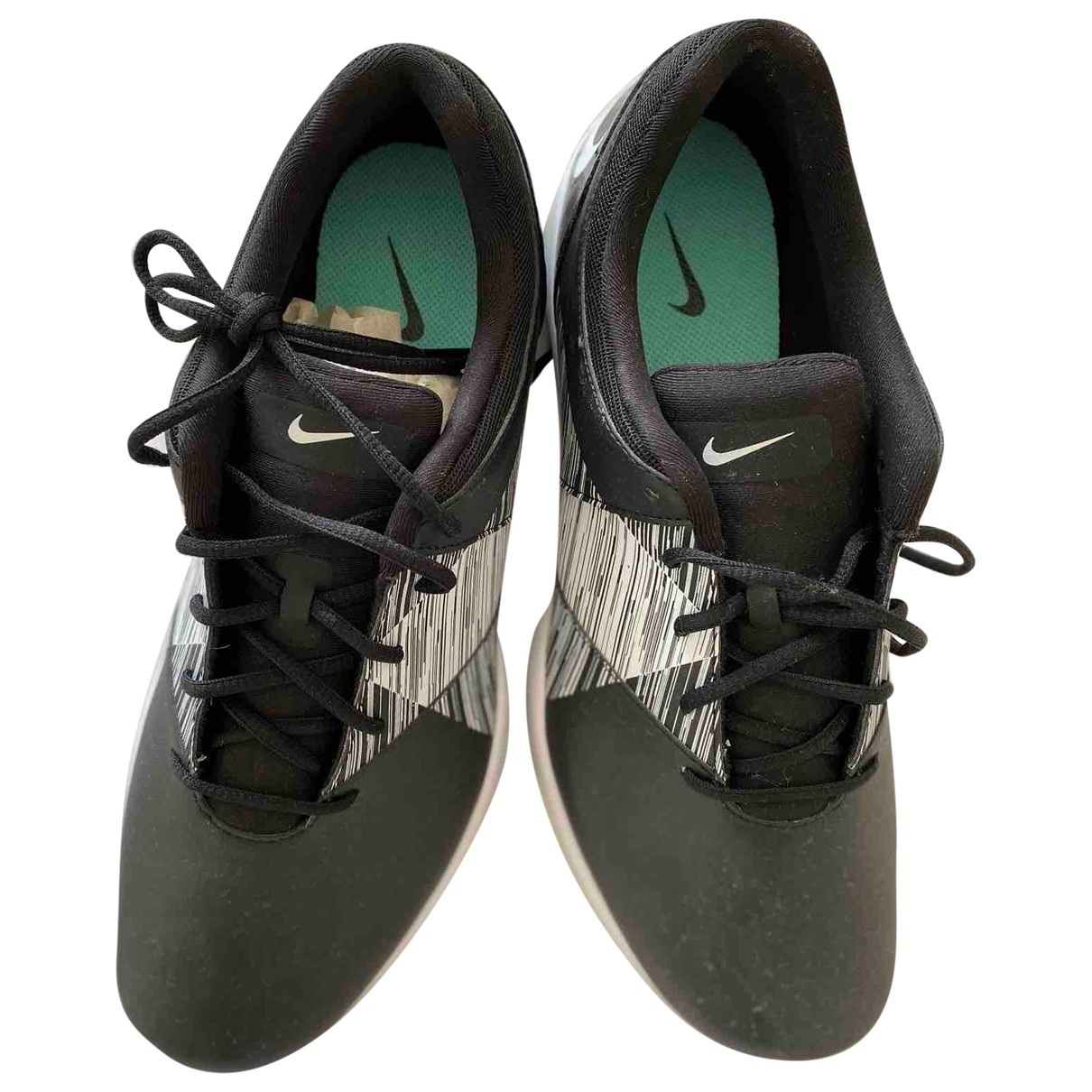 Nike \N Black Leather Trainers for Women 5.5 UK