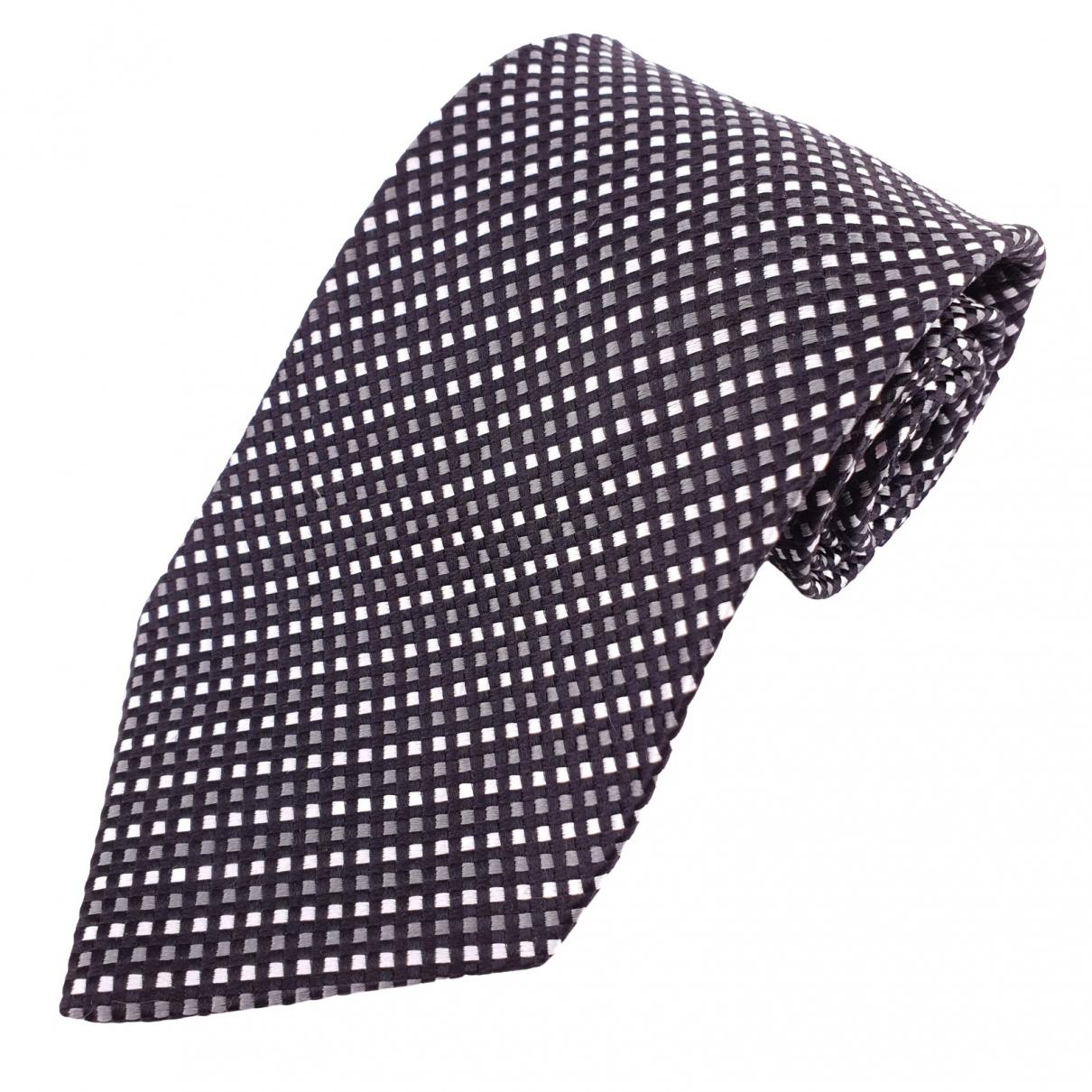 Yves Saint Laurent \N Krawatten in  Schwarz Seide