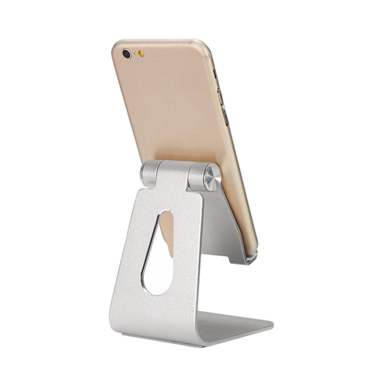Aluminum Alloy Adjustable Anti-slip Desktop Stand Charging Holder for iPad Phone Tablet