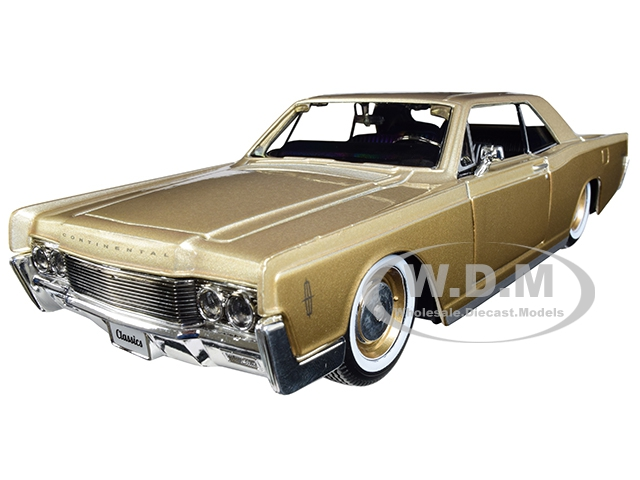 1966 Lincoln Continental Gold