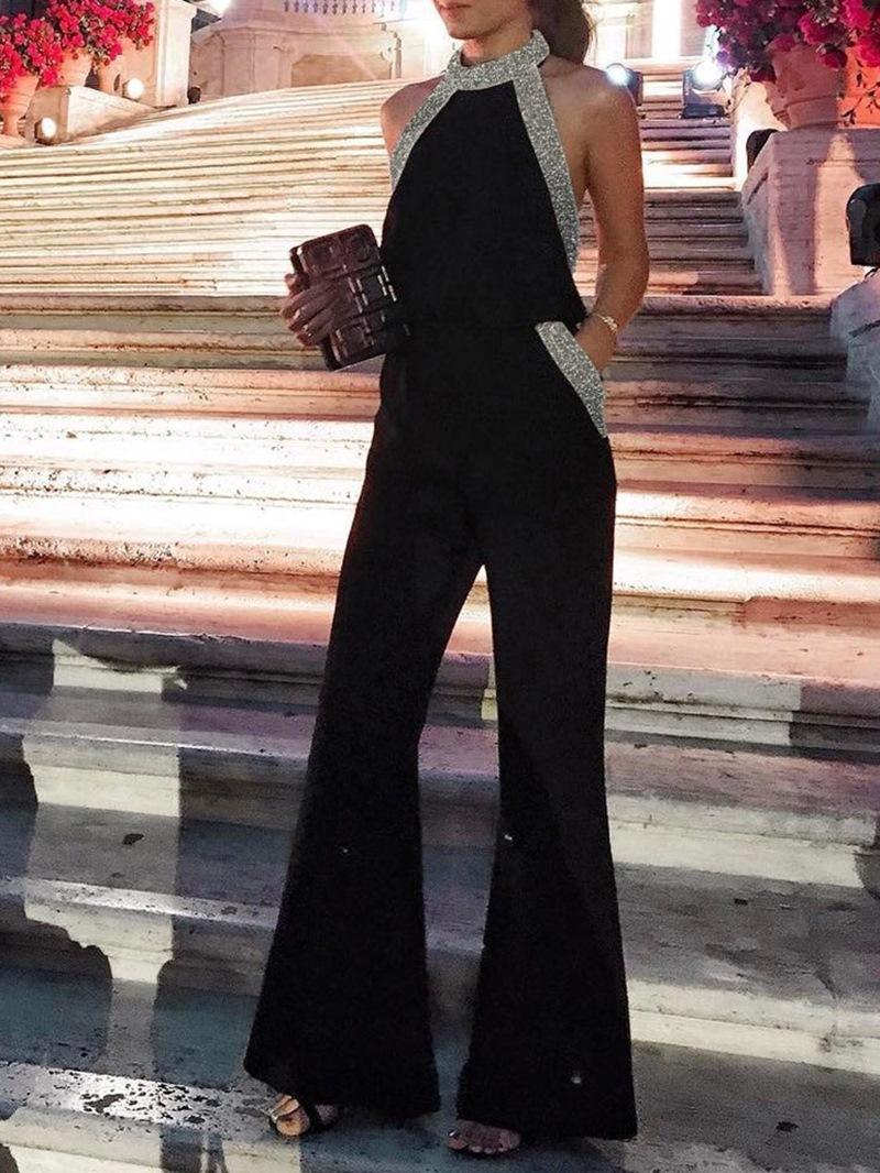 Ericdress Western Full Length Backless Slim Women's Jumpsuit