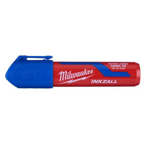 Milwaukee Inkzall™ Extra Large Chisel Tip Blue Marker