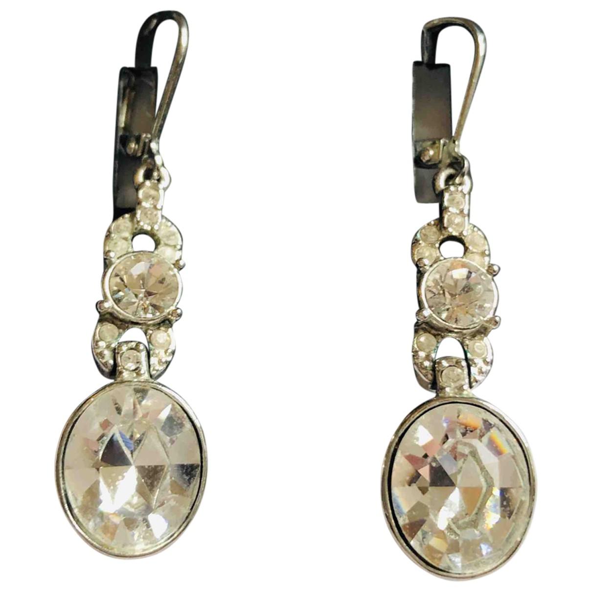 Givenchy \N Silver Metal Earrings for Women \N