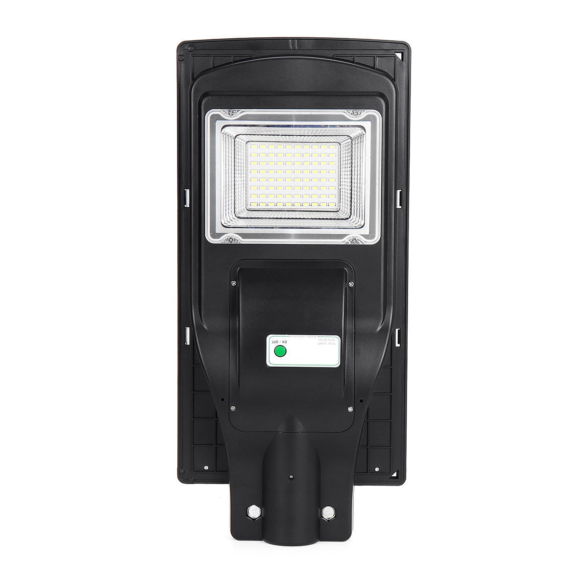 80W LED Solar Powered Wall Street Light PIR Motion Outdoor Garden Lamp
