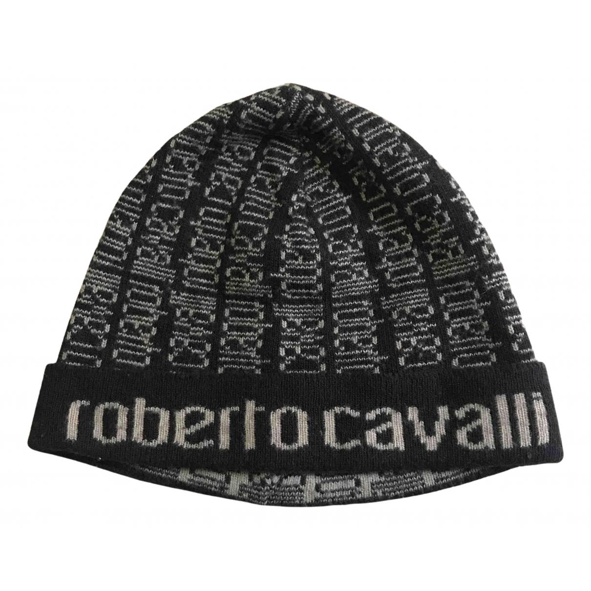 Roberto Cavalli \N Brown Wool hat & pull on hat for Men M International
