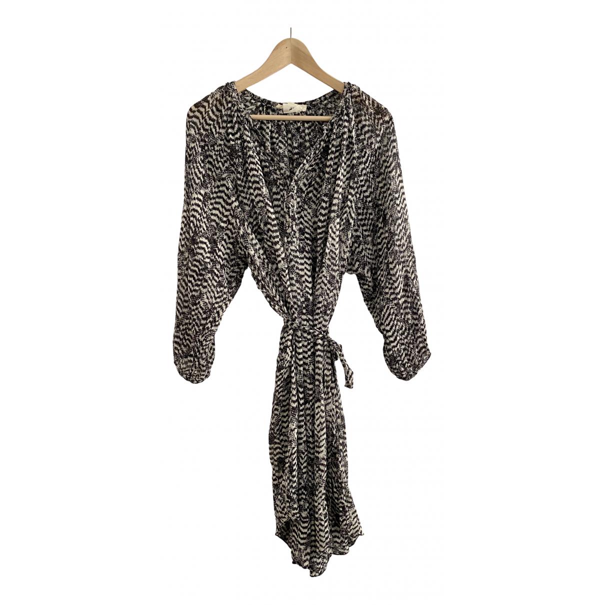 Isabel Marant Pour H&m - Robe   pour femme en soie - noir