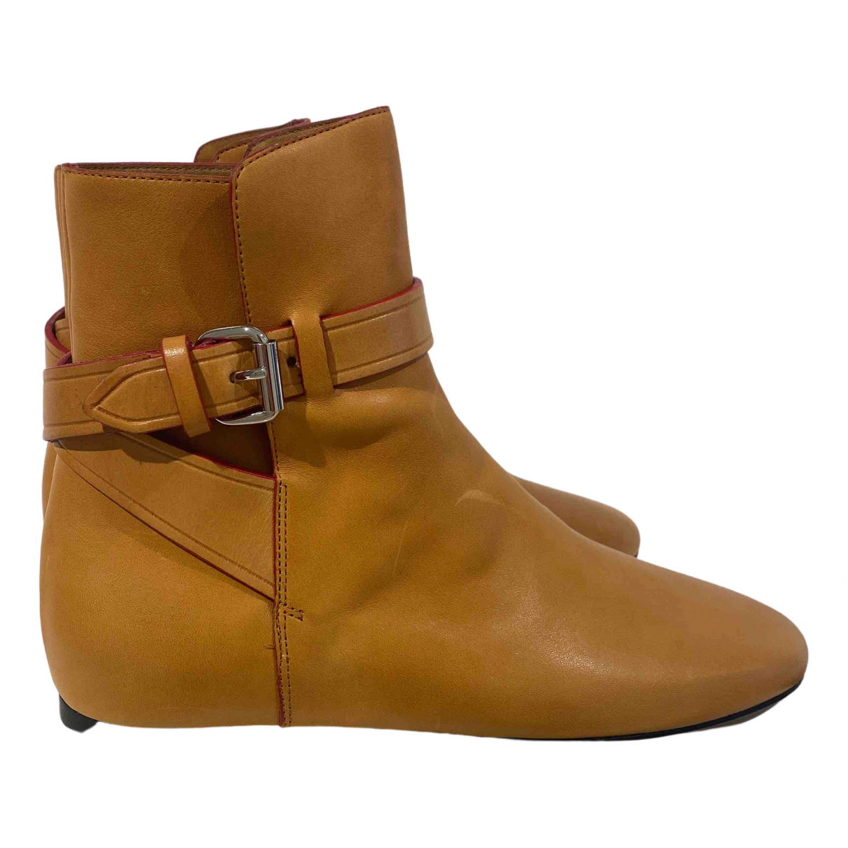 Isabel Marant N Brown Leather Ankle boots for Women 38 EU