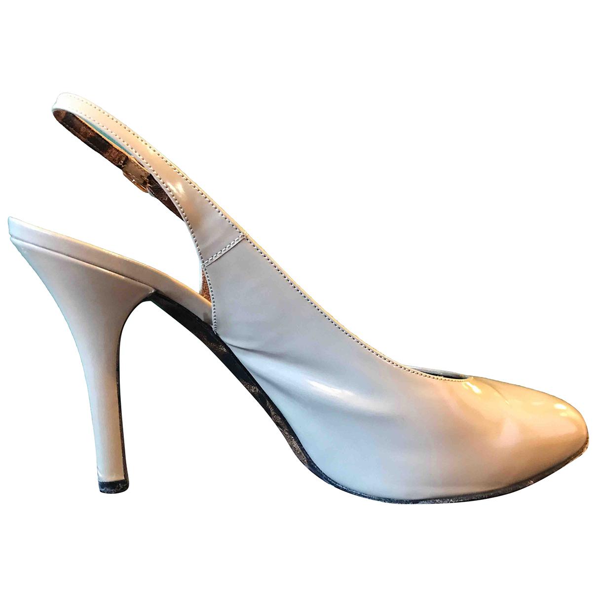 Dolce & Gabbana \N Beige Leather Heels for Women 39 IT