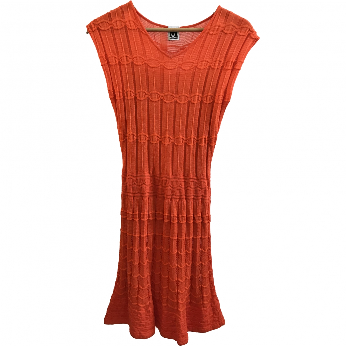 M Missoni \N Orange Wool dress for Women 36 FR
