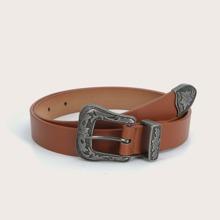 Cinturon con hebilla occidental