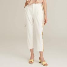 Contrast Sideseam Slant Pocket Pants