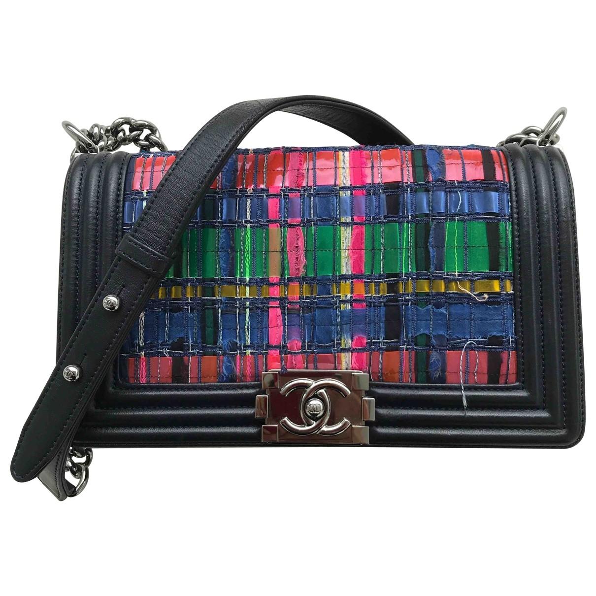 Chanel Boy Multicolour Cloth handbag for Women \N