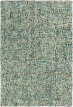 EIL2303-69 6' x 9' Rug  in Sage and Cream and Teal and Camel and Mint and Dark