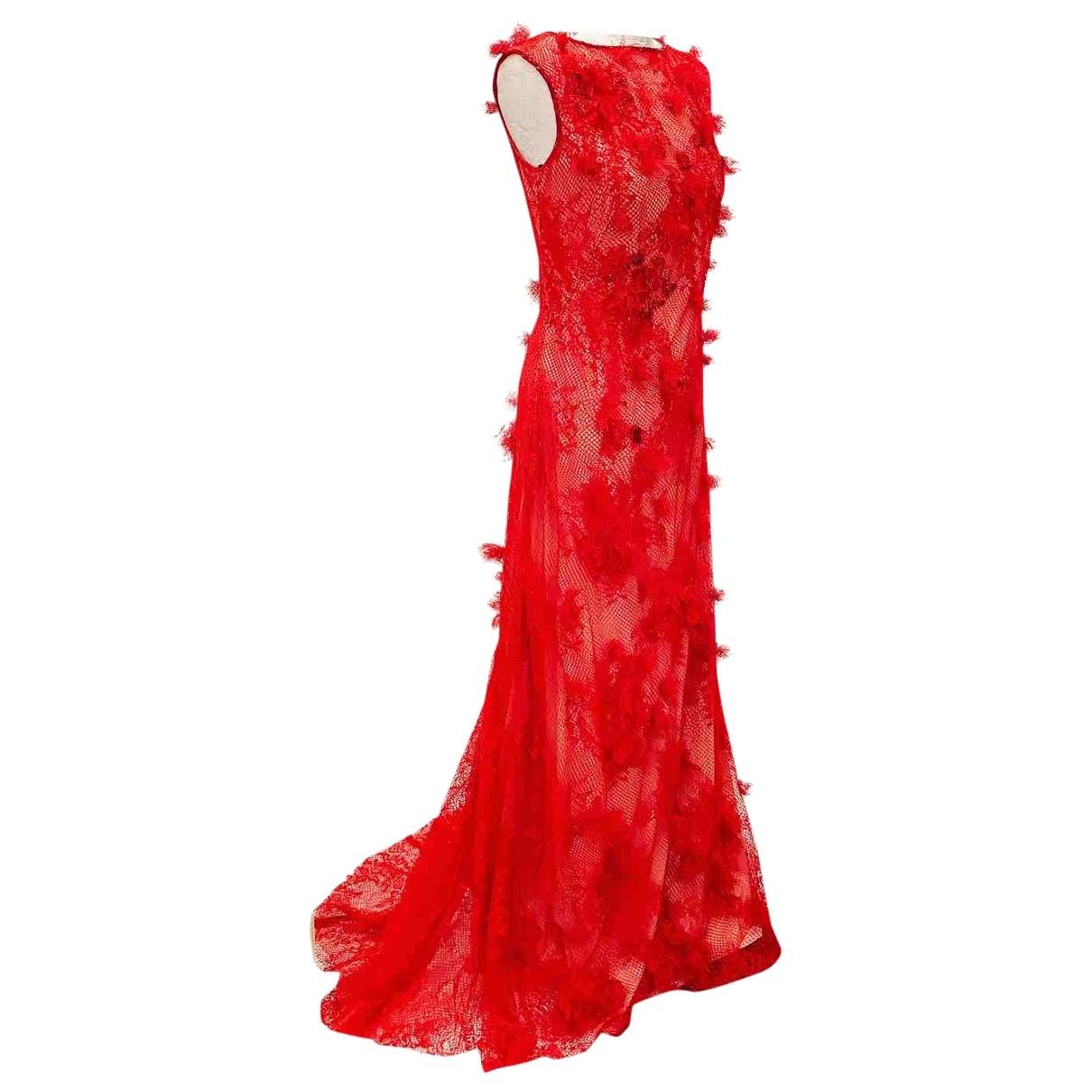Maxi vestido de Encaje Tadashi Shoji