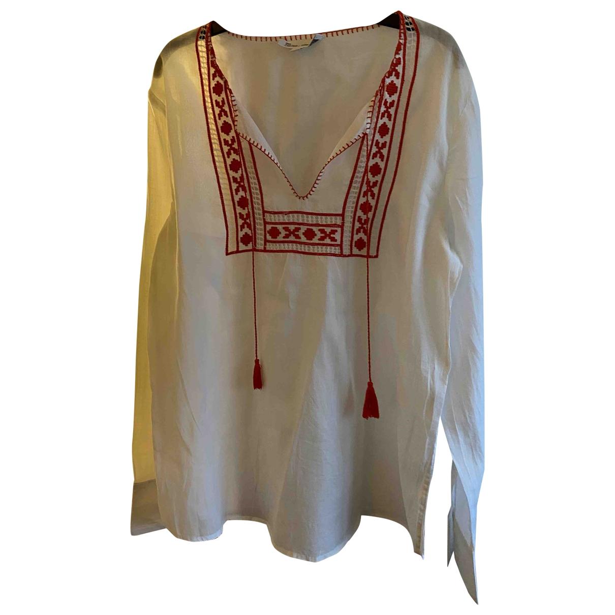 Les Petites \N White Cotton  top for Women 36 FR