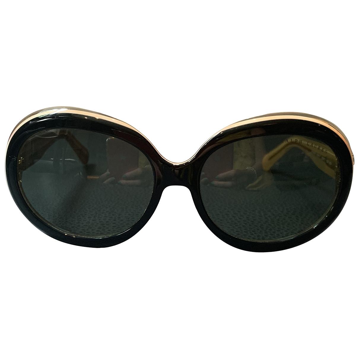 Ralph Lauren \N Sonnenbrillen in  Schwarz Kunststoff