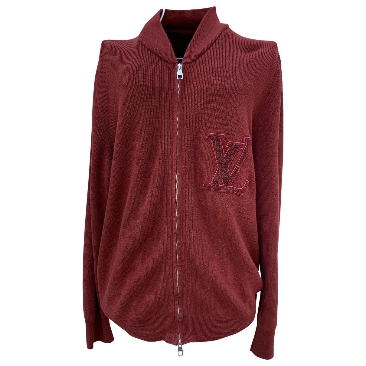 Chaqueta de punto de Lana Louis Vuitton