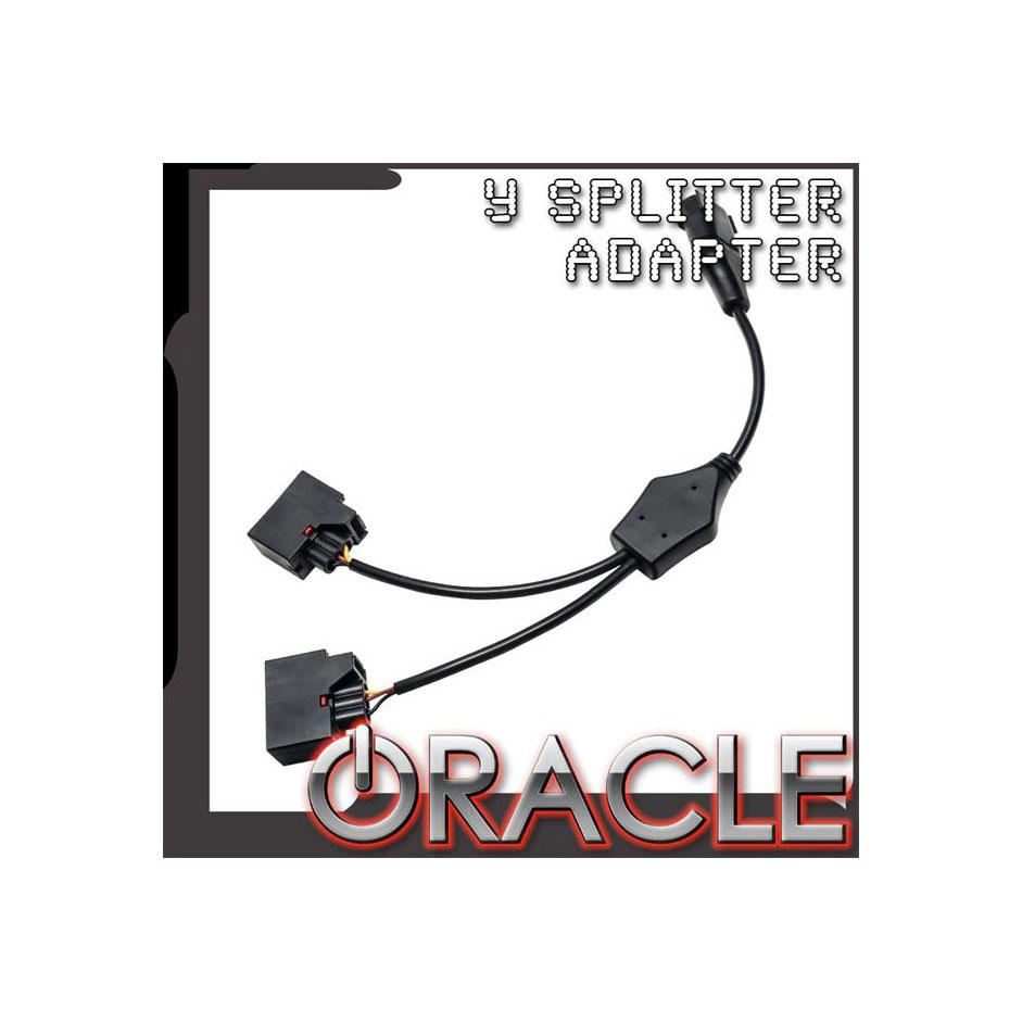Oracle Lighting 5851-504 Switchback Turn Signal Y Splitter Adapter Jeep Wrangler JK 07-18
