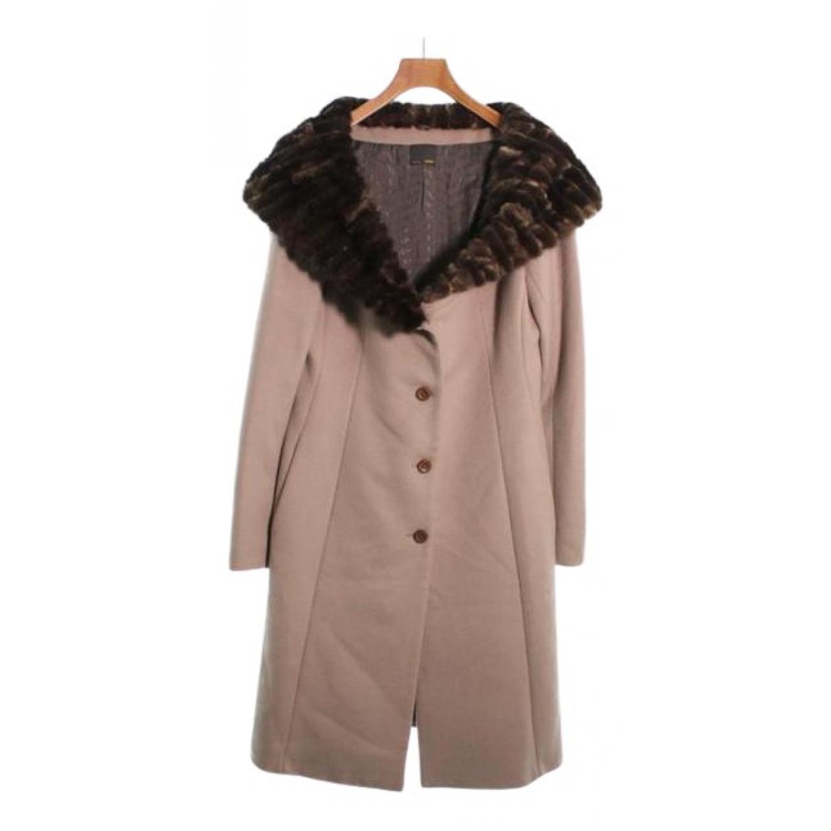 Fendi \N Beige Cashmere coat for Women 44 IT