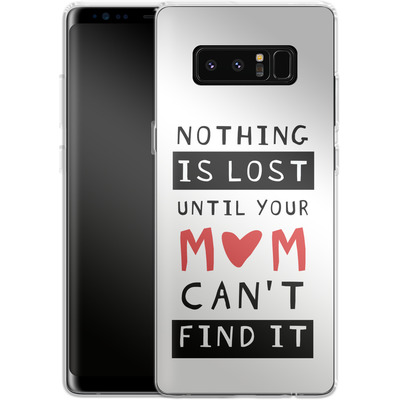 Samsung Galaxy Note 8 Silikon Handyhuelle - Nothing is Lost von caseable Designs