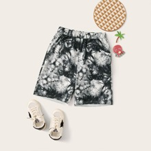 Jungen Shorts mit Batik