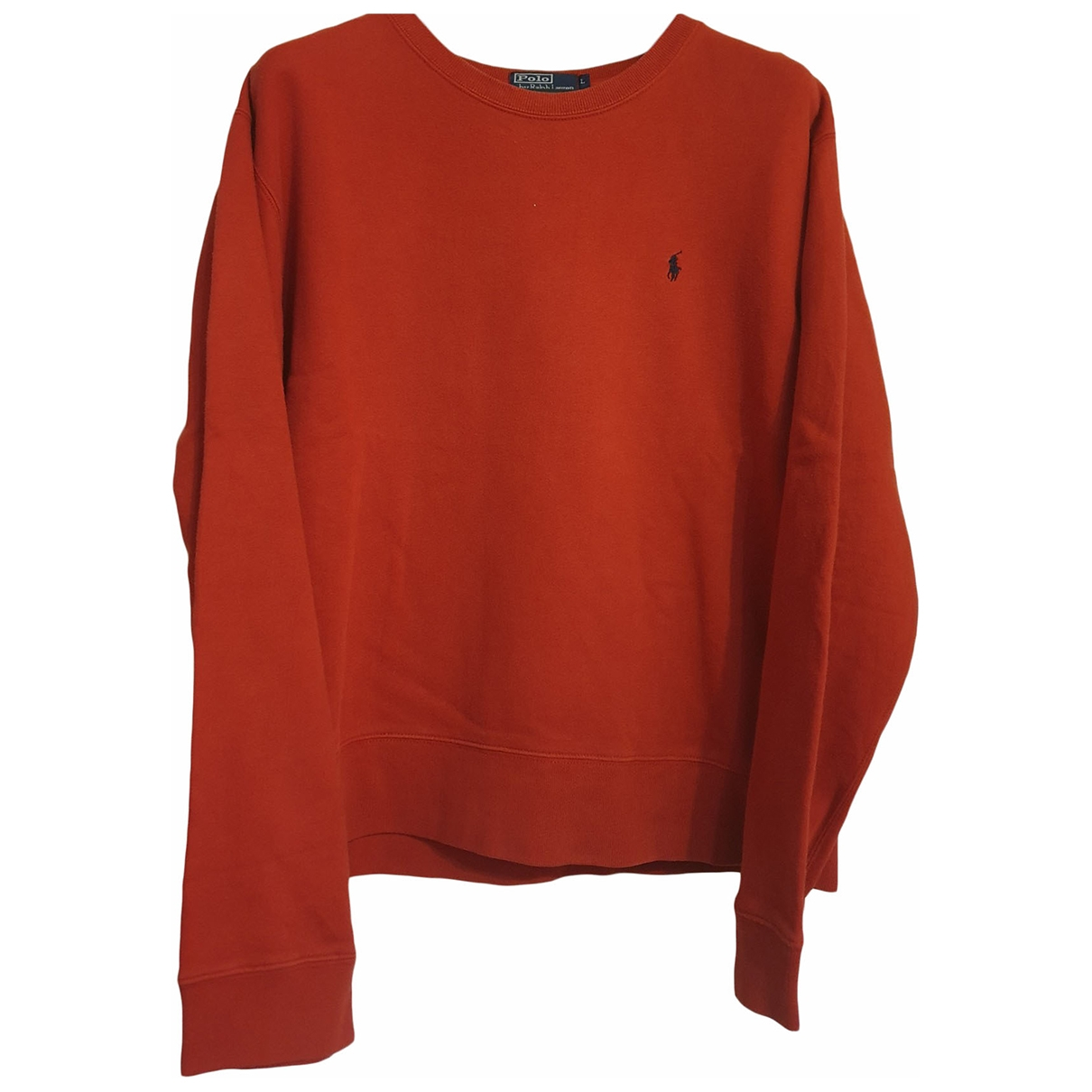 Polo Ralph Lauren \N Pullover.Westen.Sweatshirts  in  Rot Baumwolle