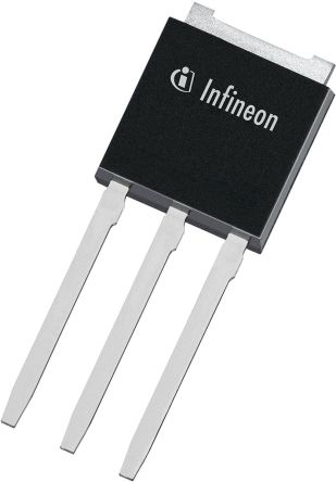 Infineon N-Channel MOSFET, 15.1 A, 700 V, 3-Pin IPAK  IPS65R400CEAKMA1 (10)