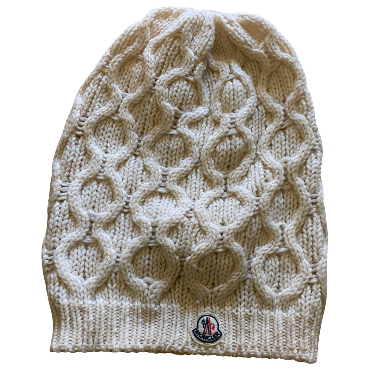 Moncler \N Hut in  Beige Wolle