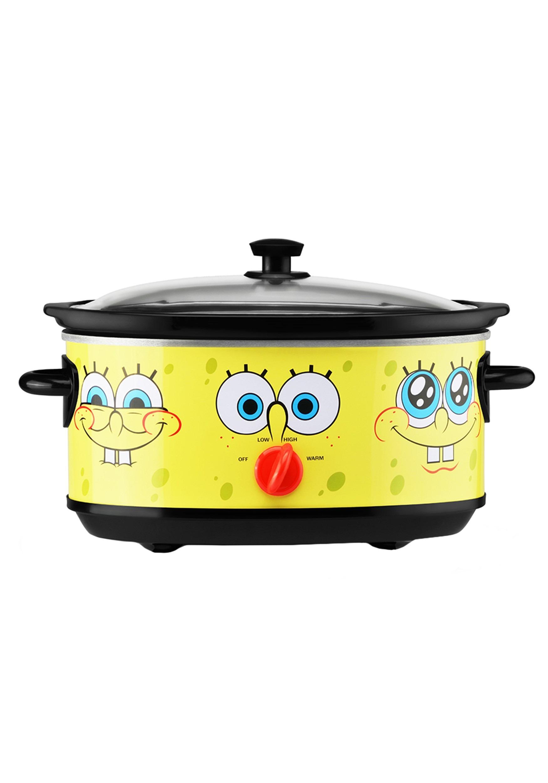 Funny Spongebob 7 Quart Crock Pot