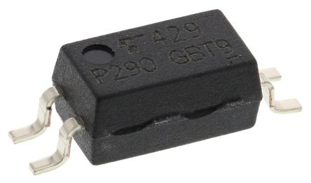 Toshiba , TLP290(GB AC Input Transistor Output Optocoupler, Surface Mount, 4-Pin SOIC (20)