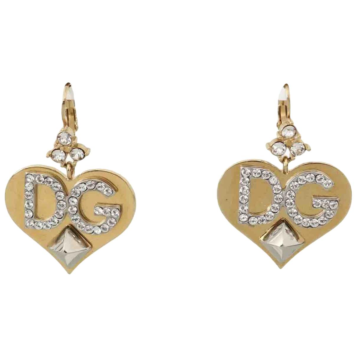 Dolce & Gabbana \N OhrRing in  Gold Kristall