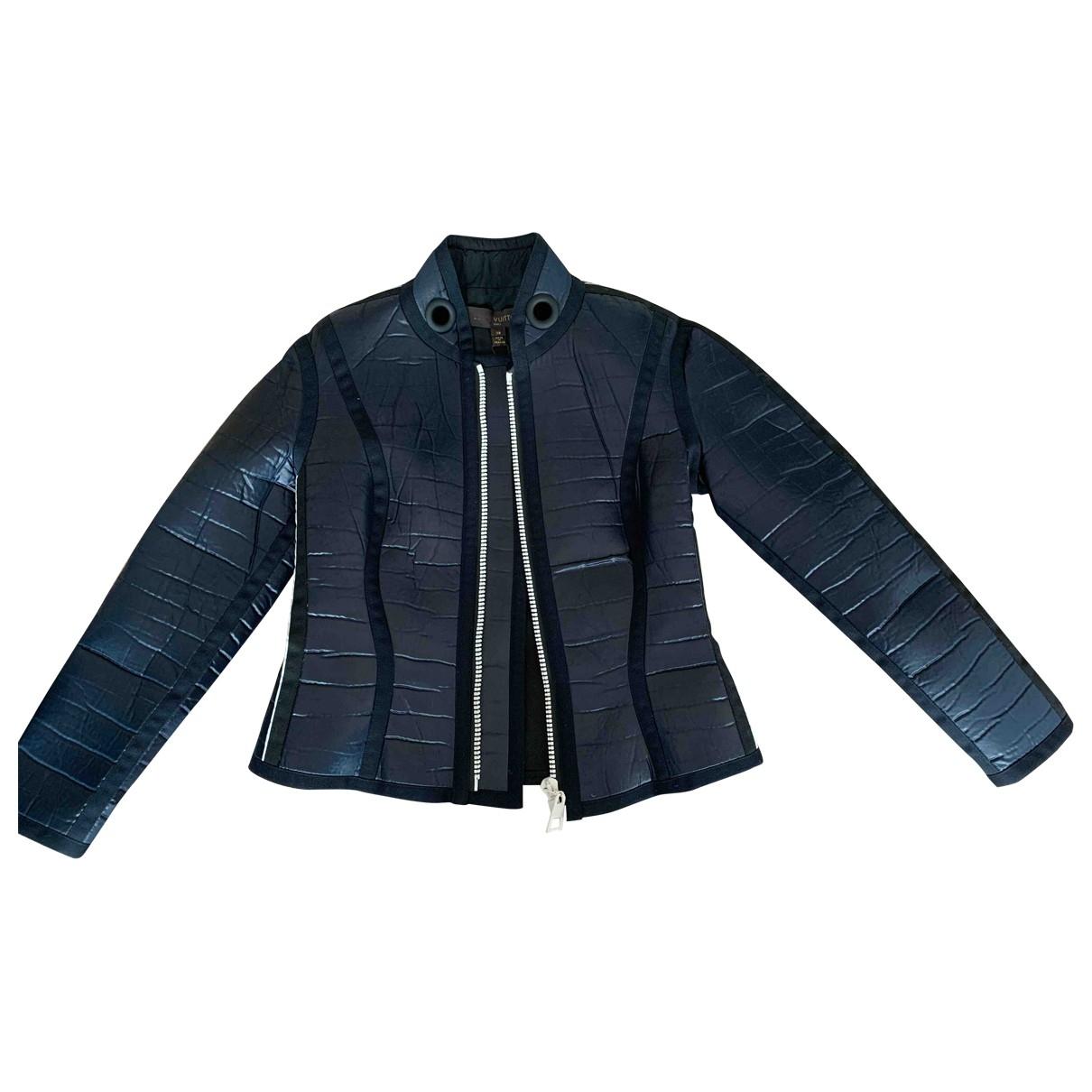 Louis Vuitton \N Navy coat for Women 38 FR