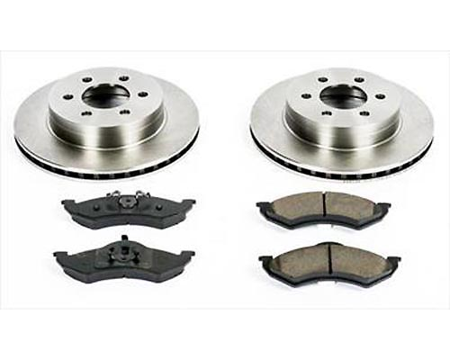 Power Stop KOE2139 OE Replacement Brake Kit Front KOE2139
