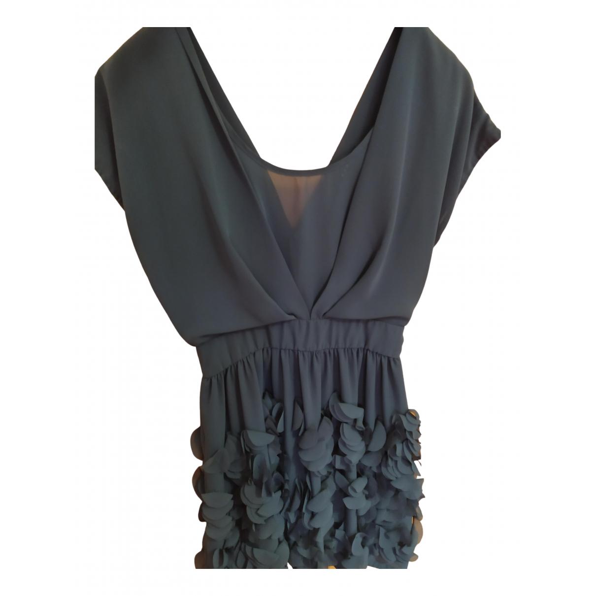 Sistes \N Kleid in  Gruen Polyester