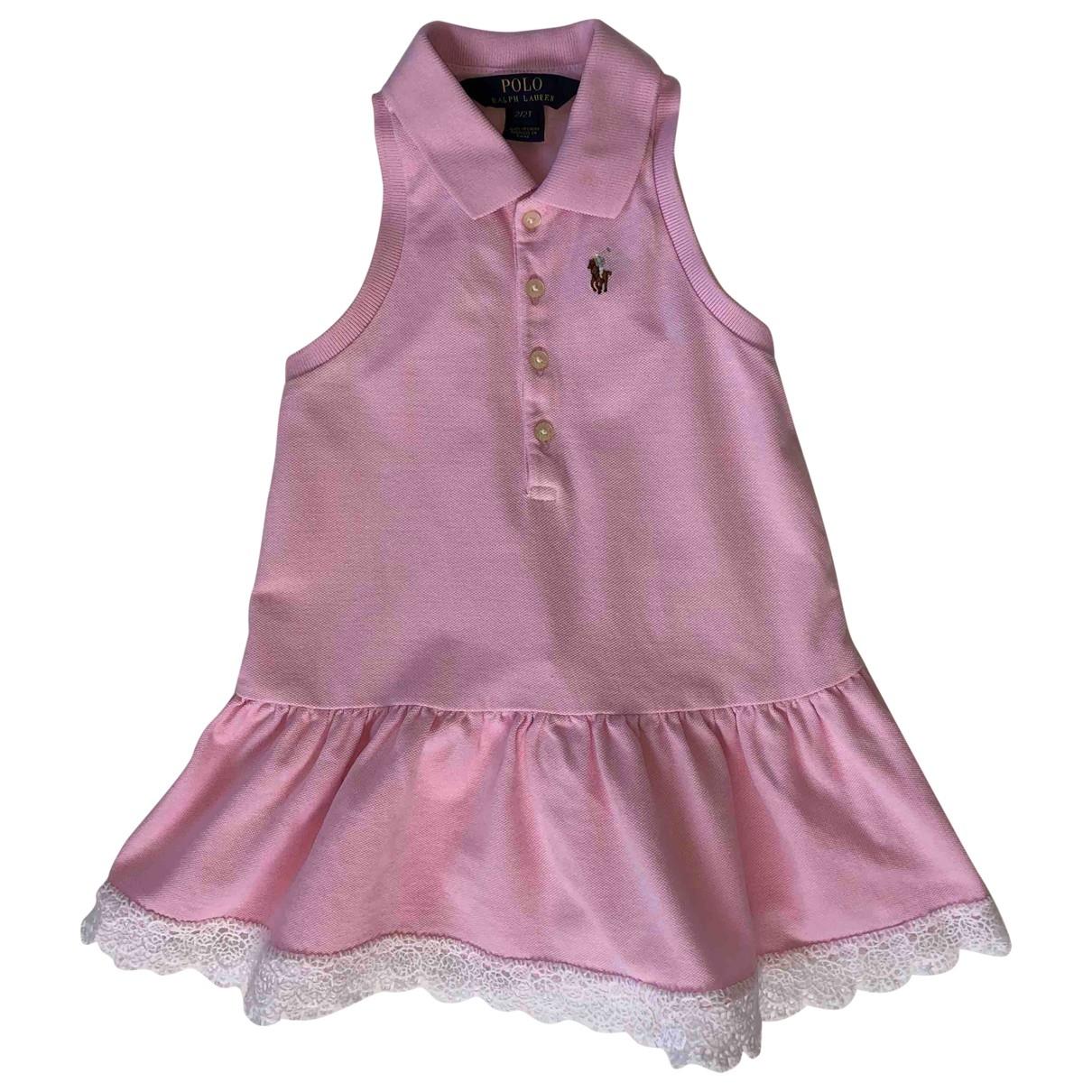 Polo Ralph Lauren \N Kleid in  Rosa Baumwolle