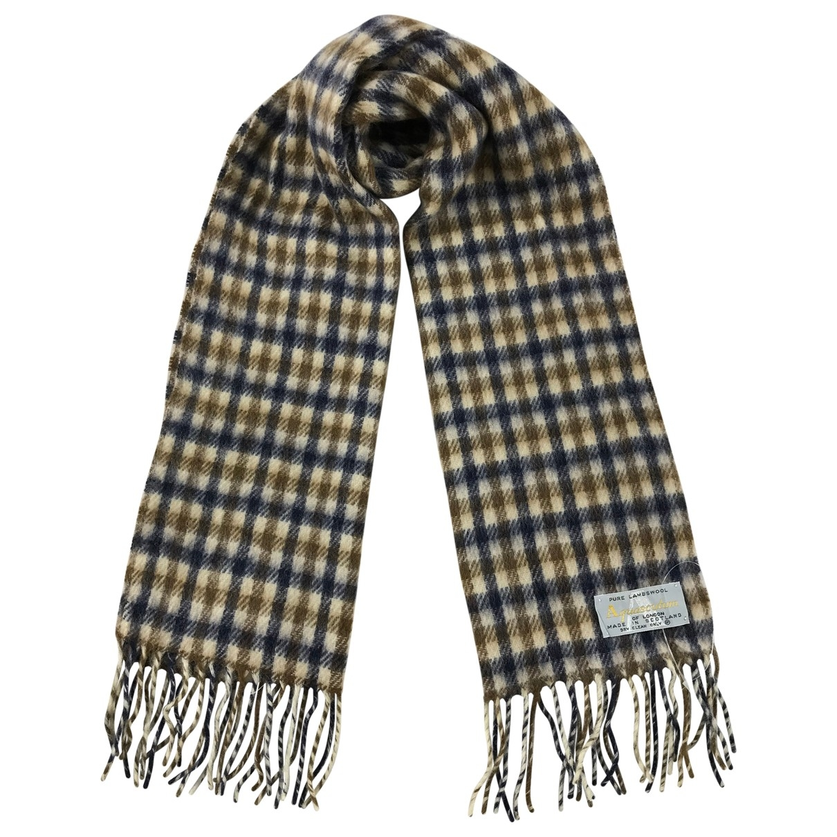 Aquascutum \N Schal in Wolle