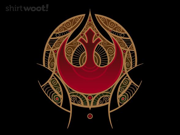 Rebel Mandala T Shirt