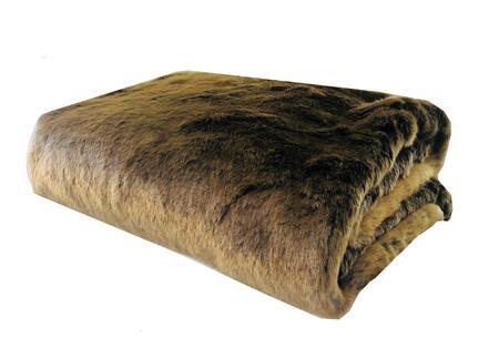 Tissavel Volga Rabbit Faux Fur Collection PBSF1446-96x110T 96L x 110W Queen Handmade Luxury