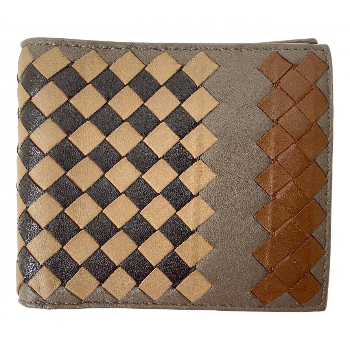 Bottega Veneta \N Multicolour Leather Small bag, wallet & cases for Men \N