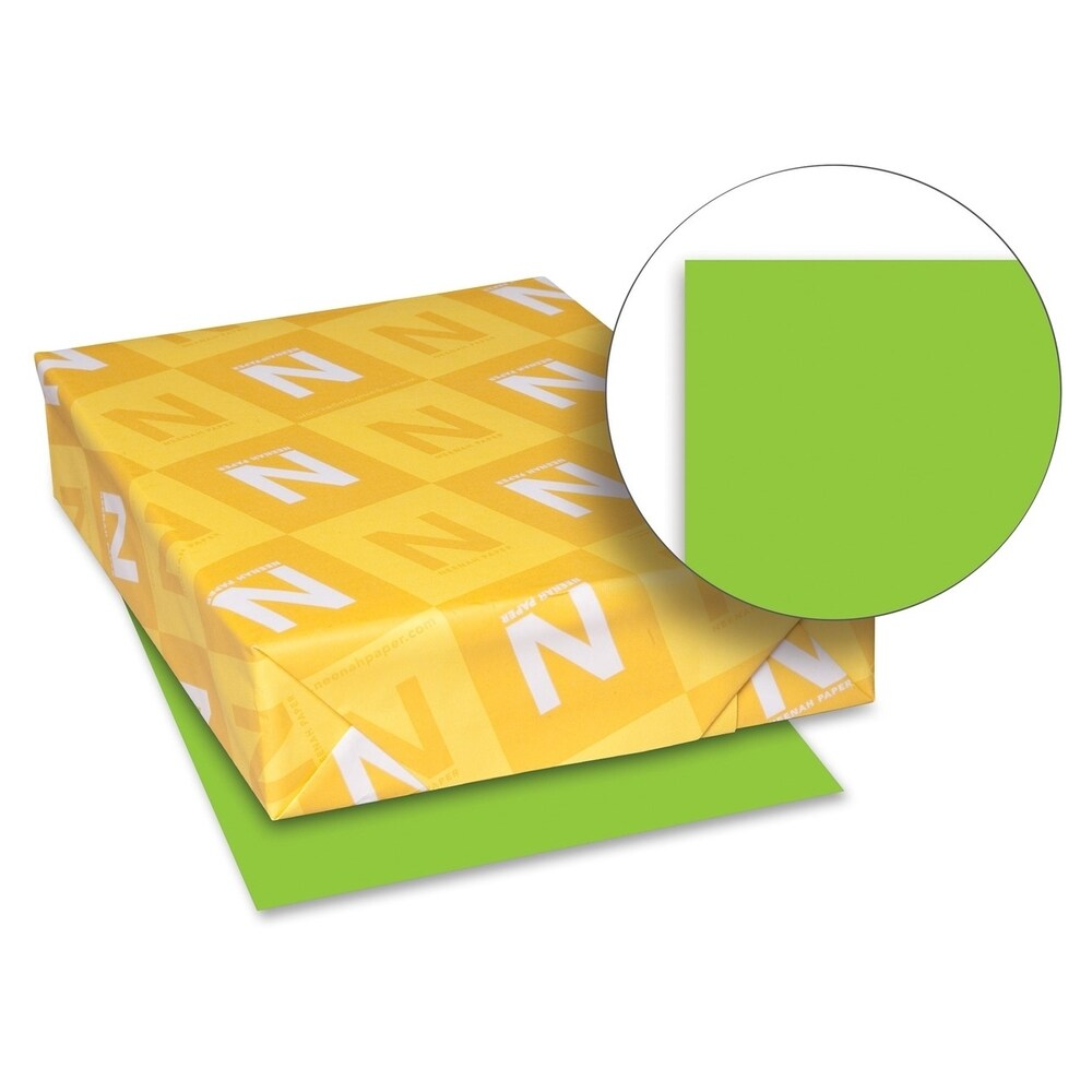 Astrobrights 24lb. Lime Green Colored Paper - 1 Ream (Master)