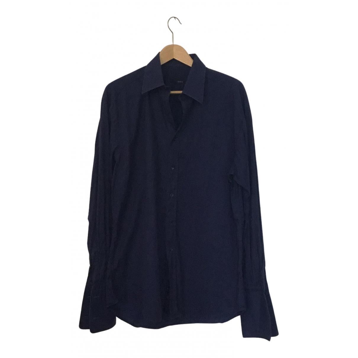 Gucci - Chemises   pour homme en coton - marine