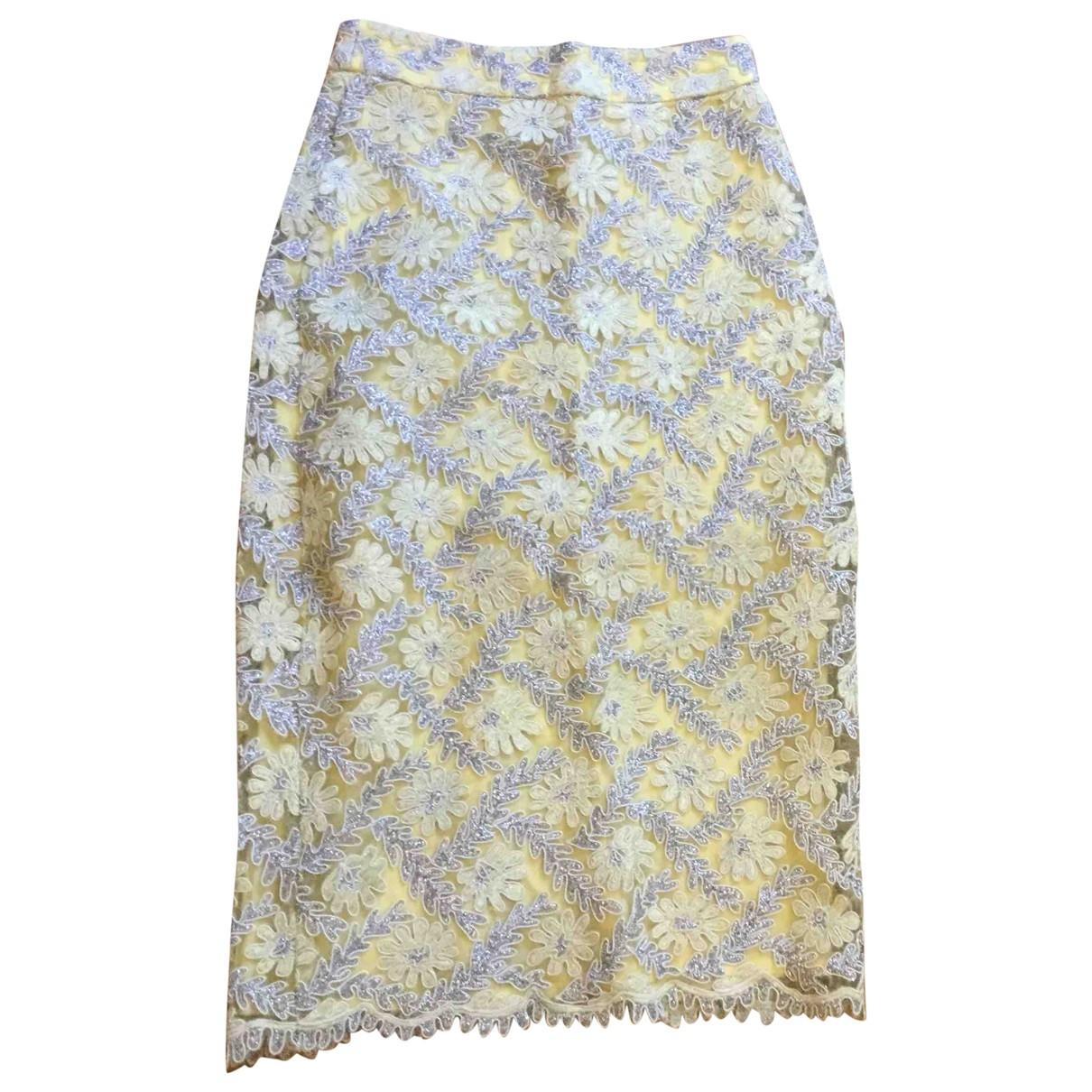 tophop \N Yellow skirt for Women 4 UK