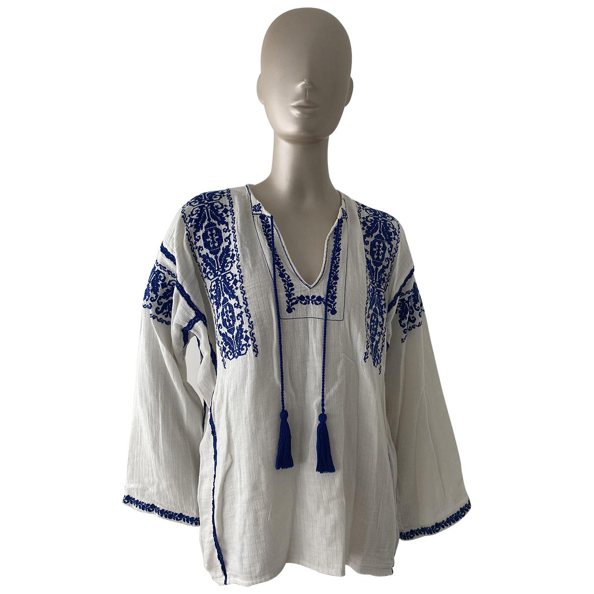 Isabel Marant Etoile - Top   pour femme en coton - blanc