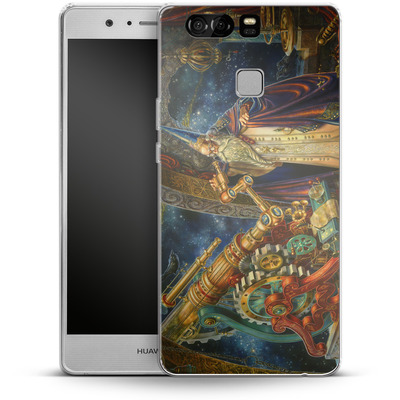 Huawei P9 Silikon Handyhuelle - Myles Pinkeney - The Astronomer von TATE and CO